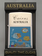 Cairns oil lighter  by Tiger very high quality  nicely gift boxed  fast shipping