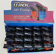 MRKZico jet flame lighter gas refillable new style mini Torch W/SALE LOT OF 20