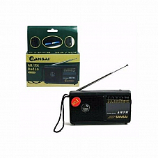 Sansai POCKET SIZED AM/FM RADIO WITH BUILT IN SPEAKER&TELESCOPIC ANTENNA RD8068