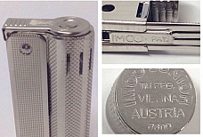 OLD STOCK ORIGINAL IMCO LIGHTER 6600 AUSTRIAN MADE TRIPLEX JUNIOR PETROL