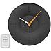 Alcyon Numberic Wall Clock   Wireless Remote Doorbell Door Bell Black