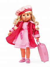 Bayer  charlene  deluxe 46 cm soft doll with 100 english phrases