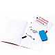magic white board A4 handwriting reusable note book