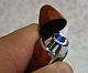 Zico jet lighter gas refillable new style electronic Bullet shaped high quality