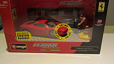 Bburago Race & Play Ferrari 458 Italia limited edition collectable licenced pro