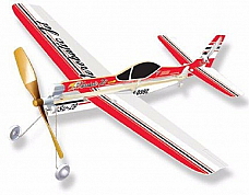 2 x SU-29 Rubber Band Powered Aerobatic  Model Plane Kit: Lyonaeec 68803