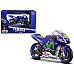 New Yamaha YZRM1 #46 2016 Moto GP Valentino Rossi Motorcycle Model 1/18 by Mais