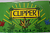 Clipper super lighter gas refillable collectable unique rubber case weed design