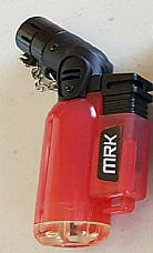 MRKZico jet flame lighter gas refillable new style mini Torch Red