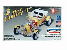 Lindberg 1/8 Kit #73045: HOT CANARY T (Ford Model T Custom) HOT ROD